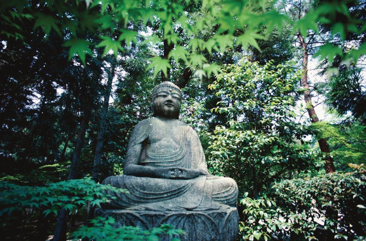 Buddha; Buddhism: The state of perfect enlightenment through ones own efforts and insights.