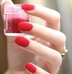 vernis velours rouge