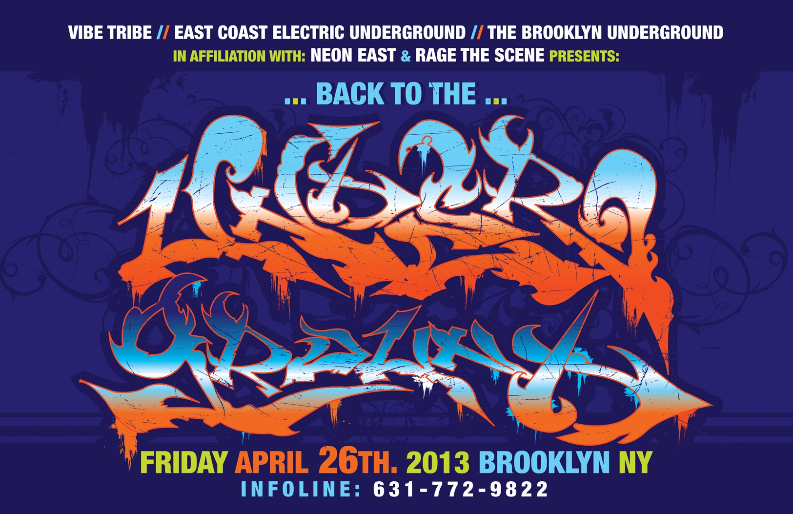 Back to the Underground FLYER