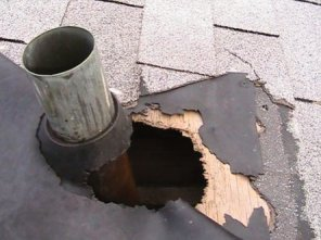 Plastic Sewer Vent Pipe Flashing