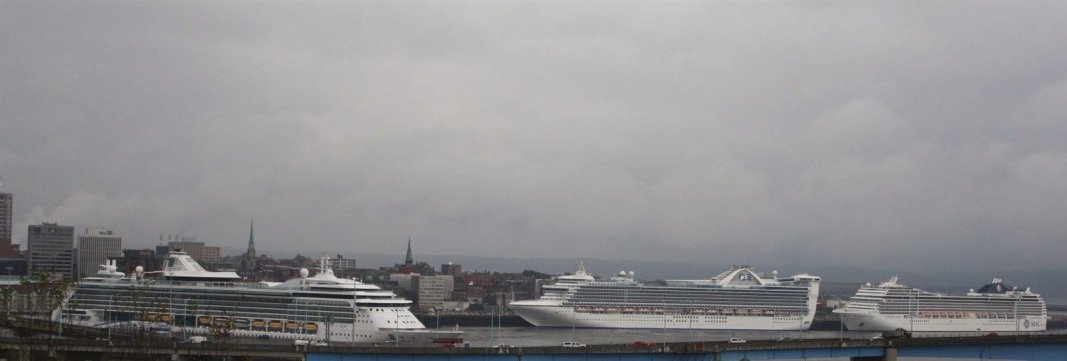 3 Ships in October in Saint John Harbour