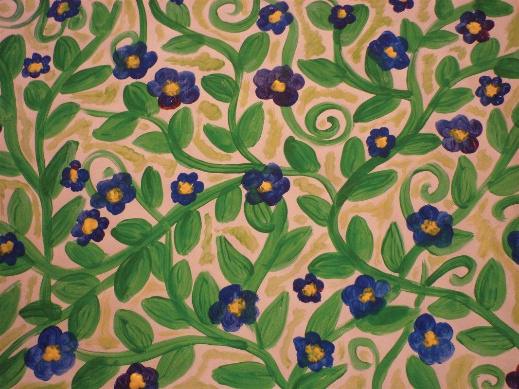 Blumensymbol in der Kunsttherapie: Vergissmeinnicht