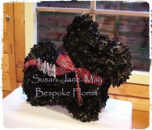 Bespoke Scottie Dog Tribute