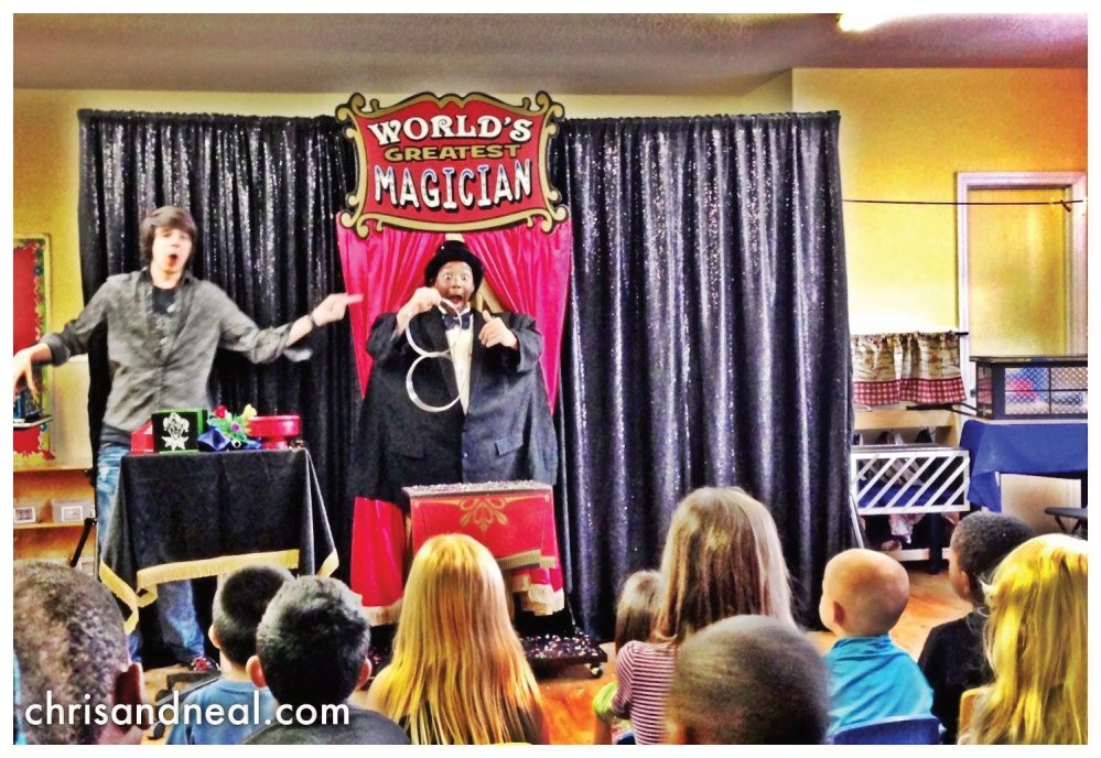 Family Entertainers in Raleigh NC, Kids Party Magic Show