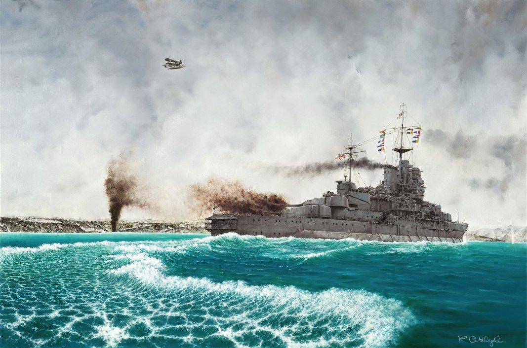 Warspite at Narvik