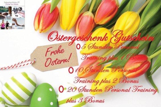 Eure Personal Trainer in Bochum verschenken zu Ostern.