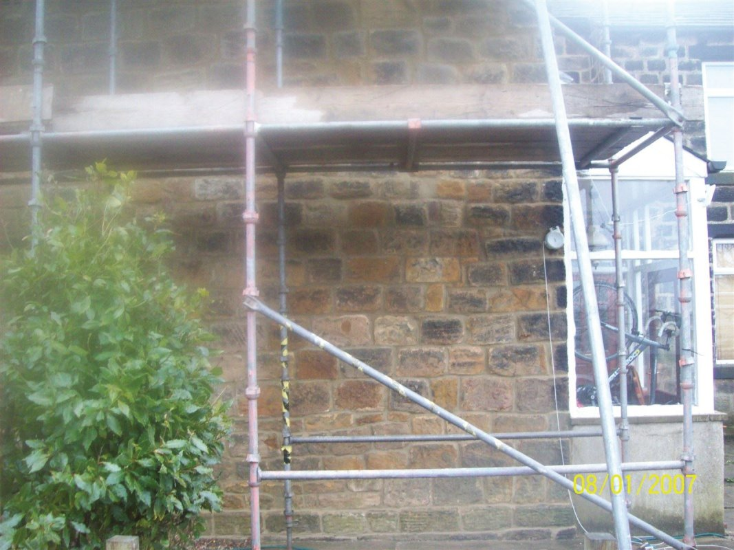 repointing of yorkshire stone in yeadon all work carried out by leeds pointing