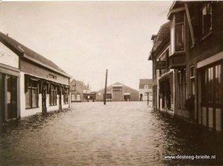 brielle hoogwater Varkensstraat