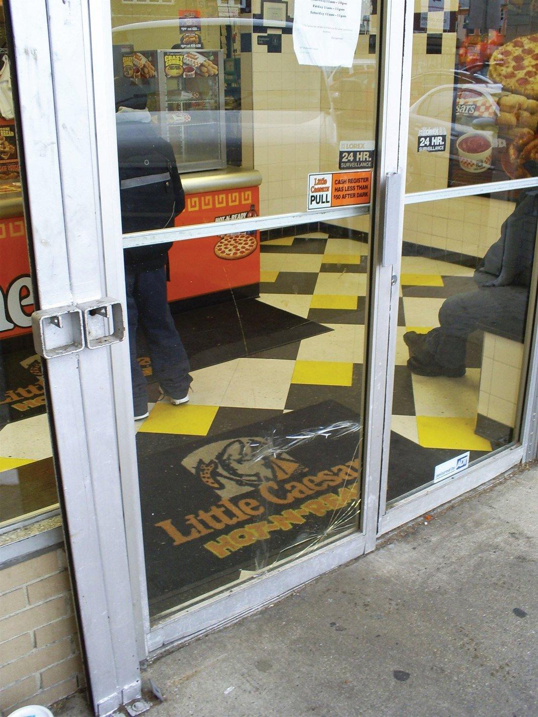 commercial door glass repair in Philadelphia Pa