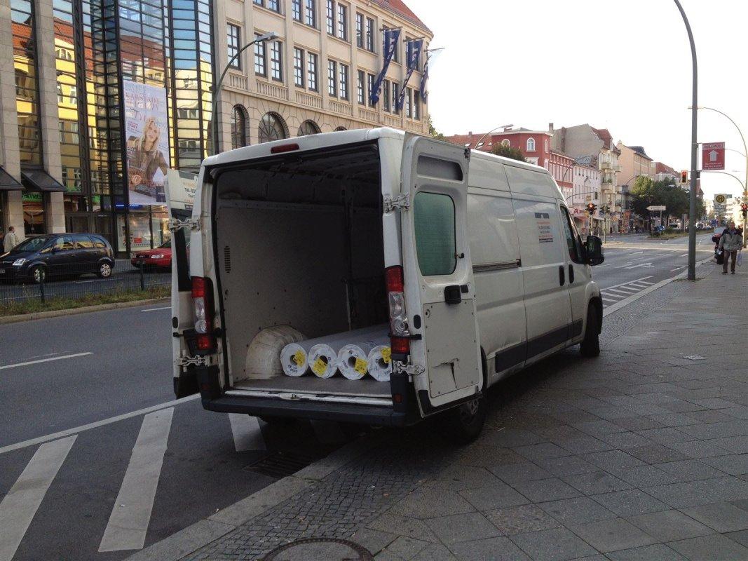 Kleintransport in Berlin