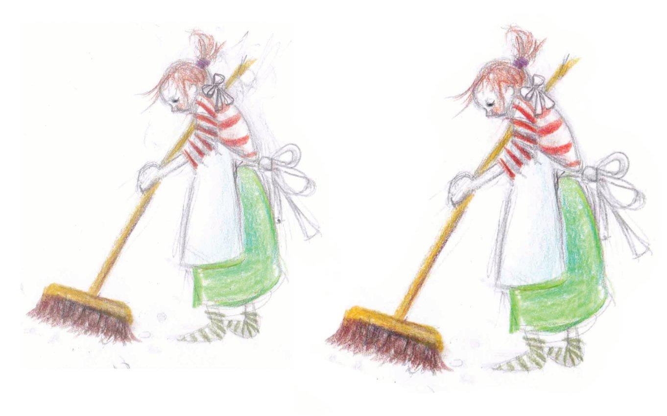 Cleaning up, opruimen