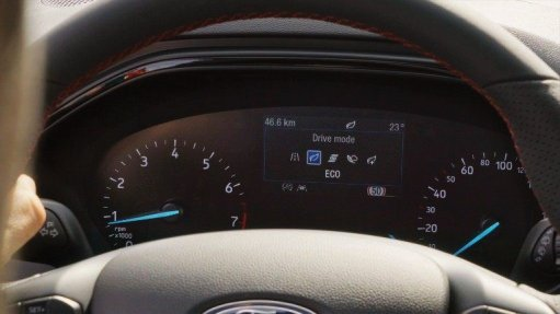 Drive Modes include 'Normal', 'Eco' and 'Sport