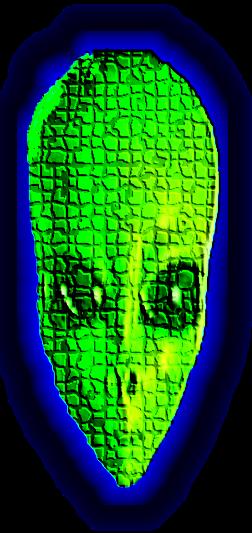 misterioso alieno verde