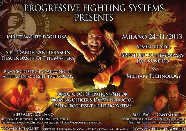 Raduno Europeo Progressive Fighting Systems 2013