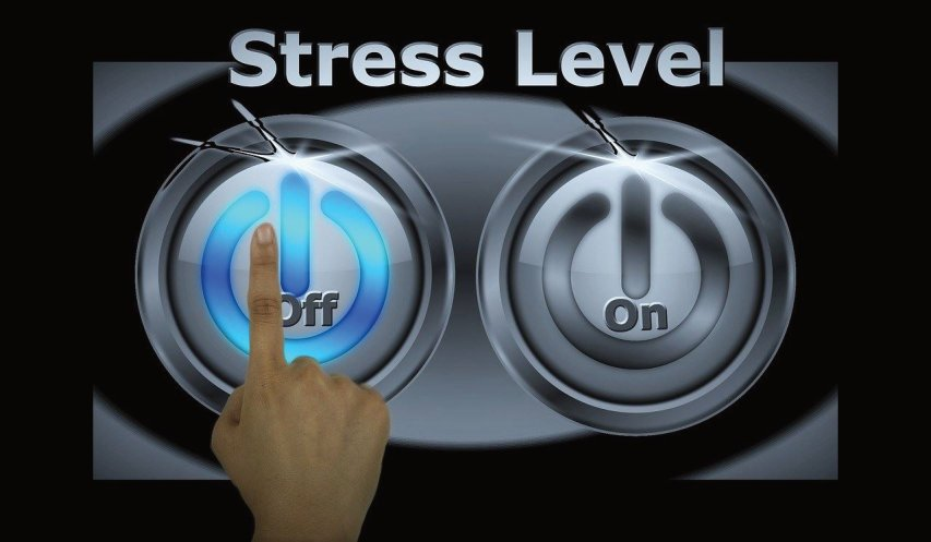 On & Off Stress Buttons