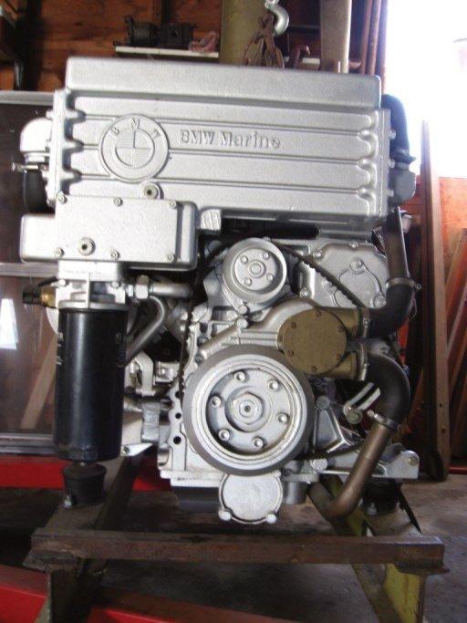 BMW TURBO DIESEL MARINE ENGINE FOR SALE AT IVSS MARINE VOLVO PENTA STERNDRIVE SPECIALISTS
