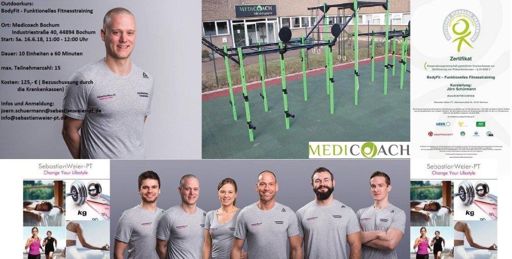 Eure Personal Trainer für Euer Outdoortraining in Bochum