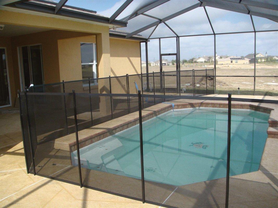 at ease pool fence polk