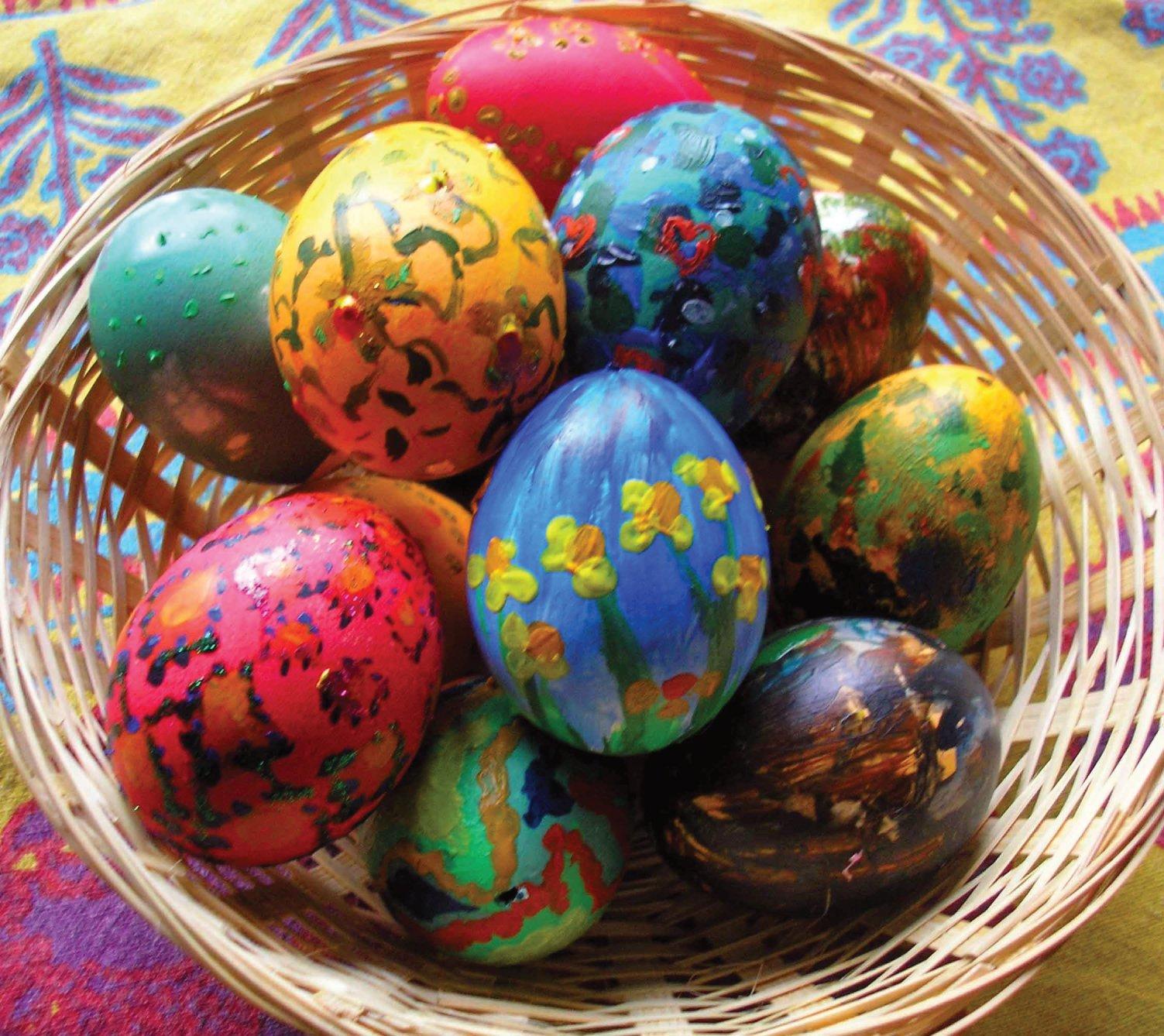 easter eggs, paaseitjes
