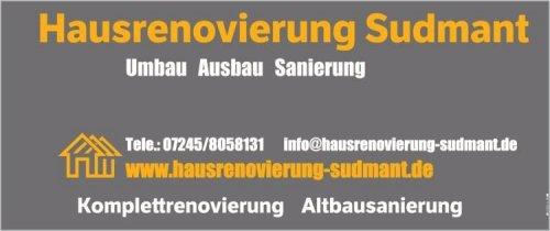 Hausrenovierung Sudmant  Wärmedämmung Renovierung Sanierung Karlsruhe Rastatt Ettlingen
