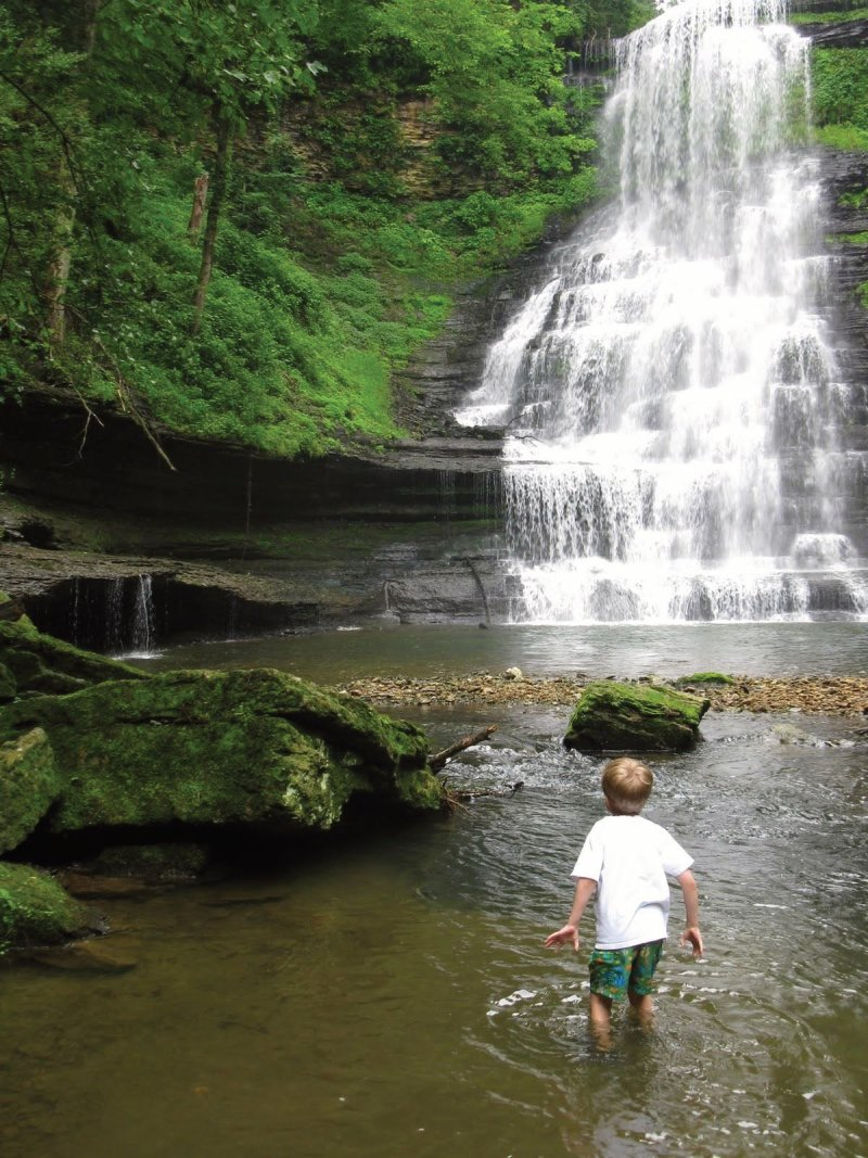 Stress reduction nature boy waterfall therapy services Ann Arbor, MI