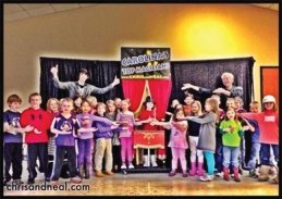 Fayetteville Kids Magician & Family Magicians Fayetteville NC