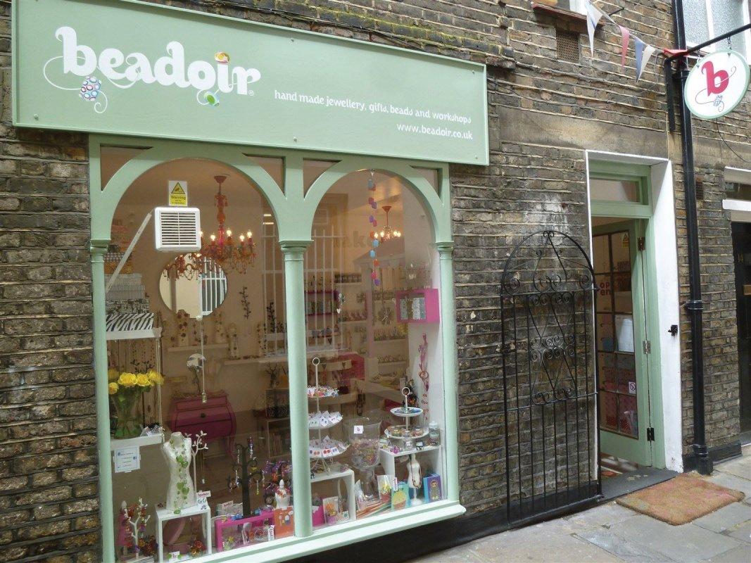 The BEADOIR shop Greenwich London