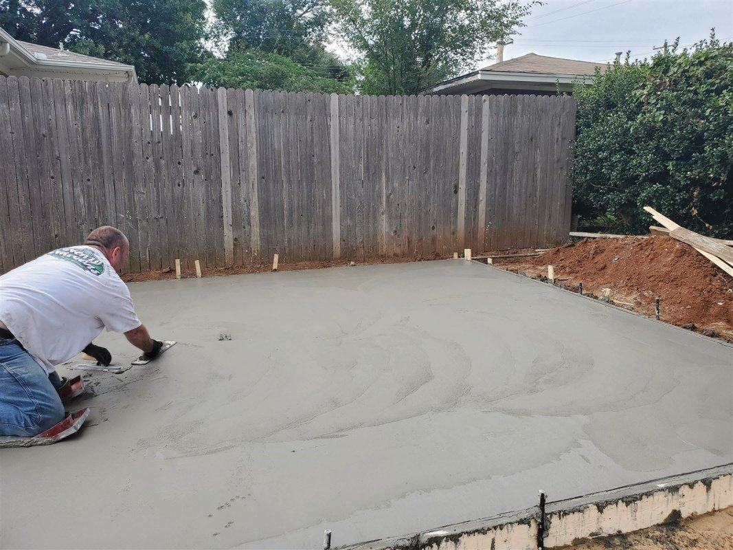 Extension of Driveway and new approach Del City, OK