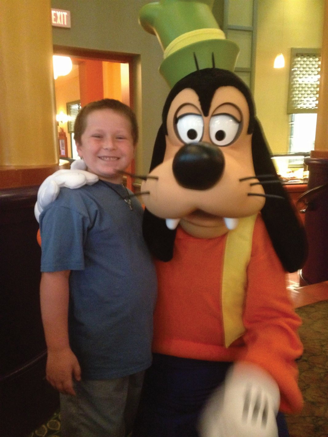 William and Pluto, a charter breakfast awaits your child at many Disney Resorts