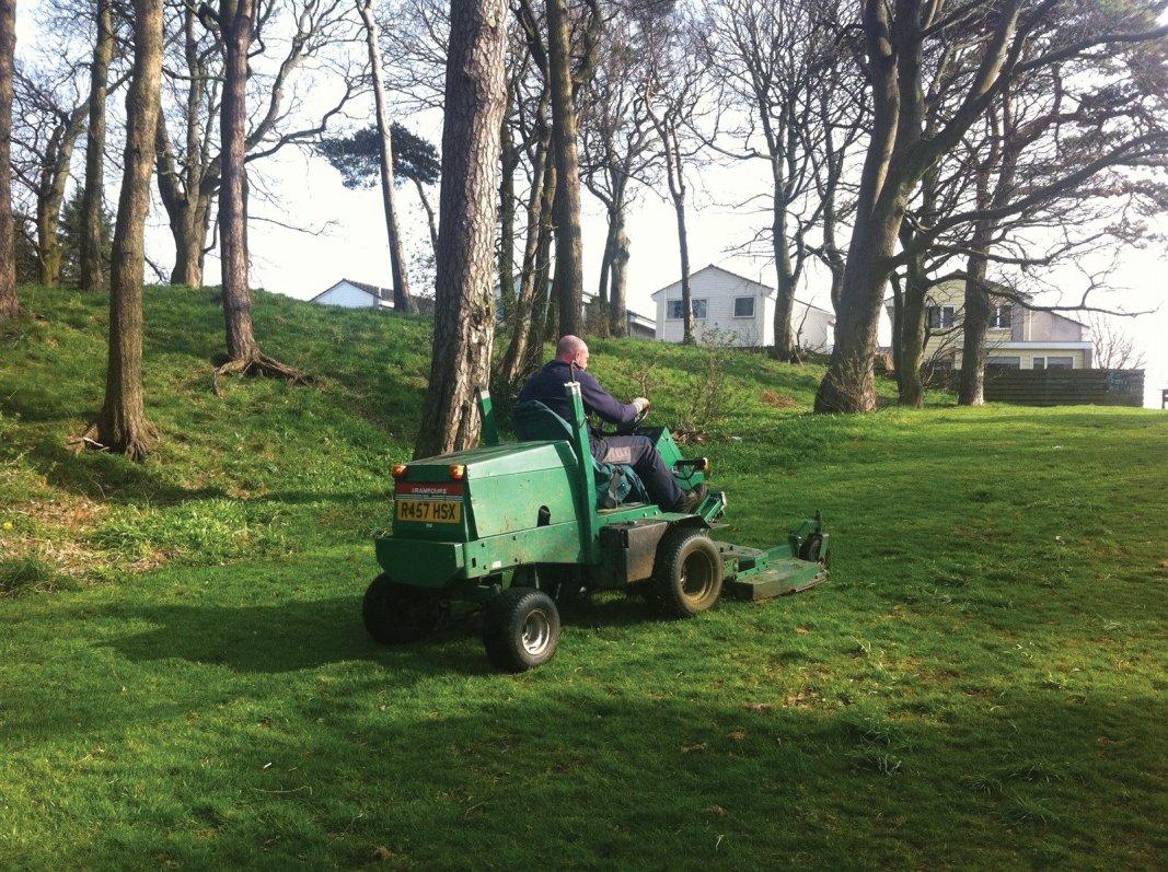 Landscape maintenance for housing estates