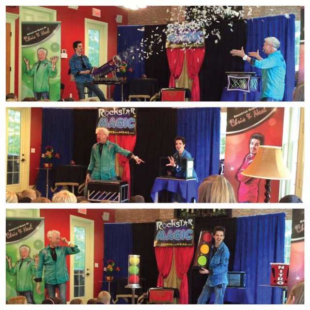 Super Easy and Extra Amazing Birthday Party Magic Shows From Jacksonville Magicians Chris and Neal of Rockstar Magic
