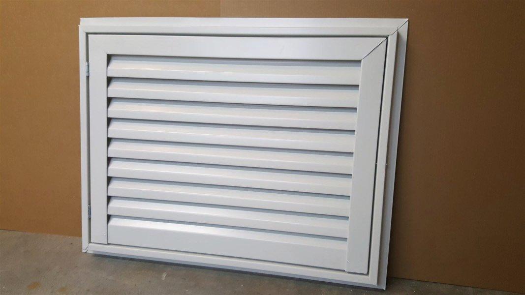 32x24 aluminum hinged gable vent