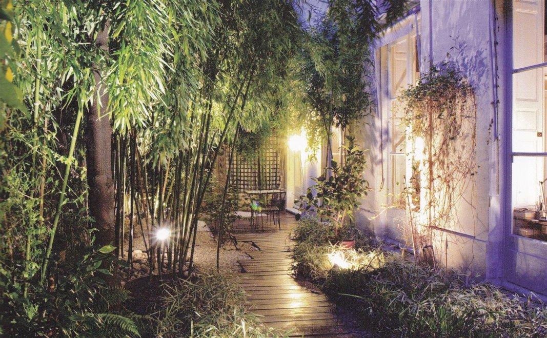 IMMOVERT - L'éclairage du jardin
