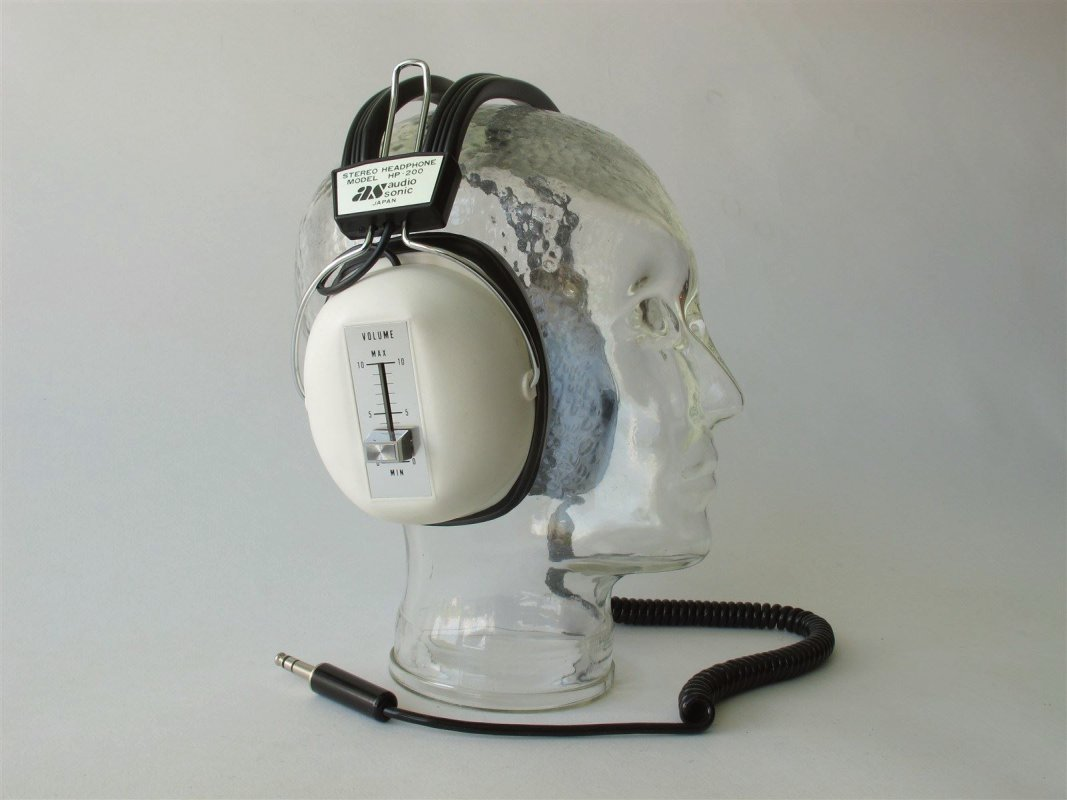 Audio Sonic HP 200 vintage headphone