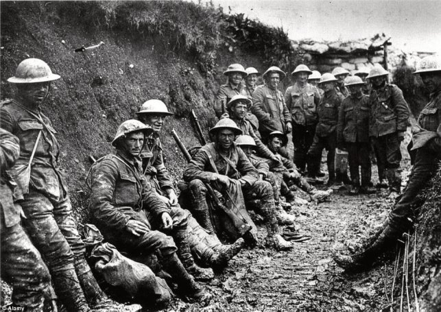 British and American Trench Infantry