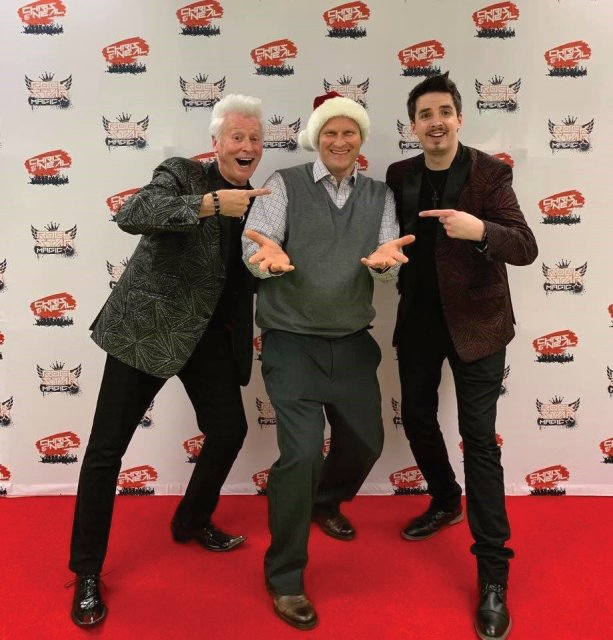 Red Carpet Experience with Rockstar Magic of Chris and Neal