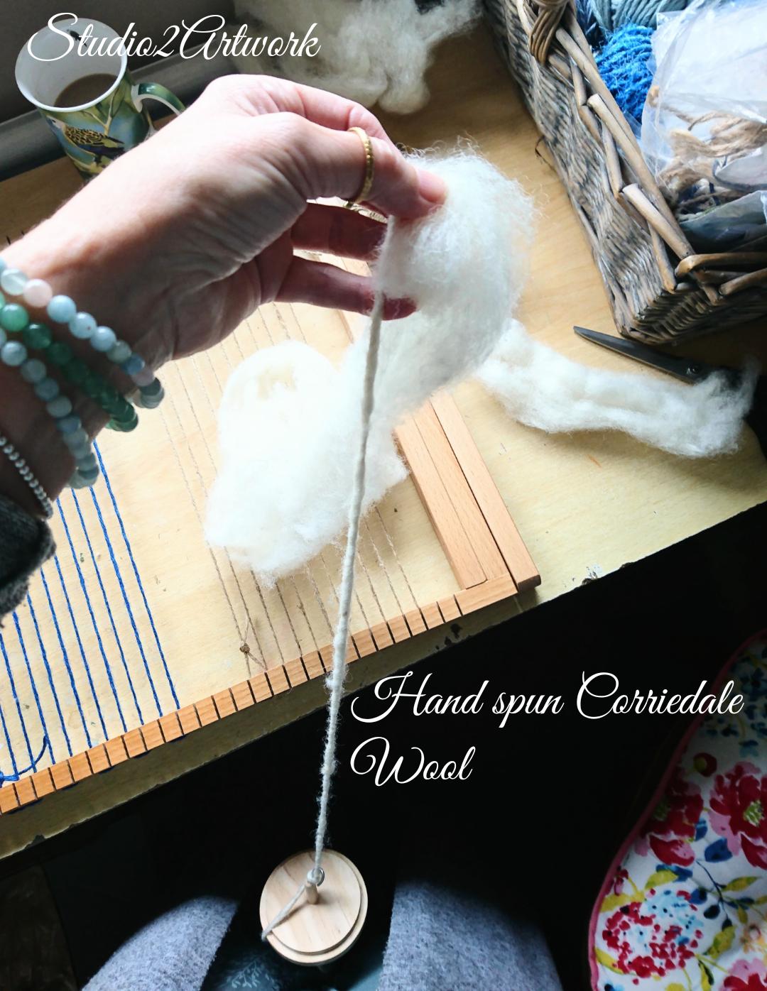 Hand Spun Corriedale Wool