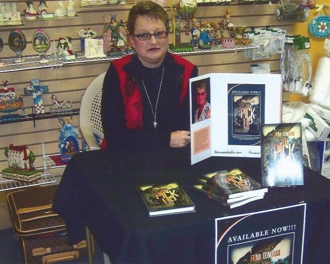 My 1st book signing event
