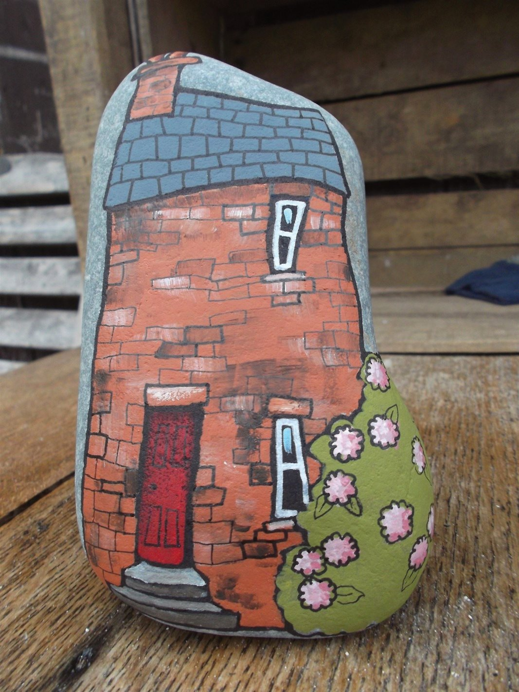 The painted pebbles are proving very popular at the moment