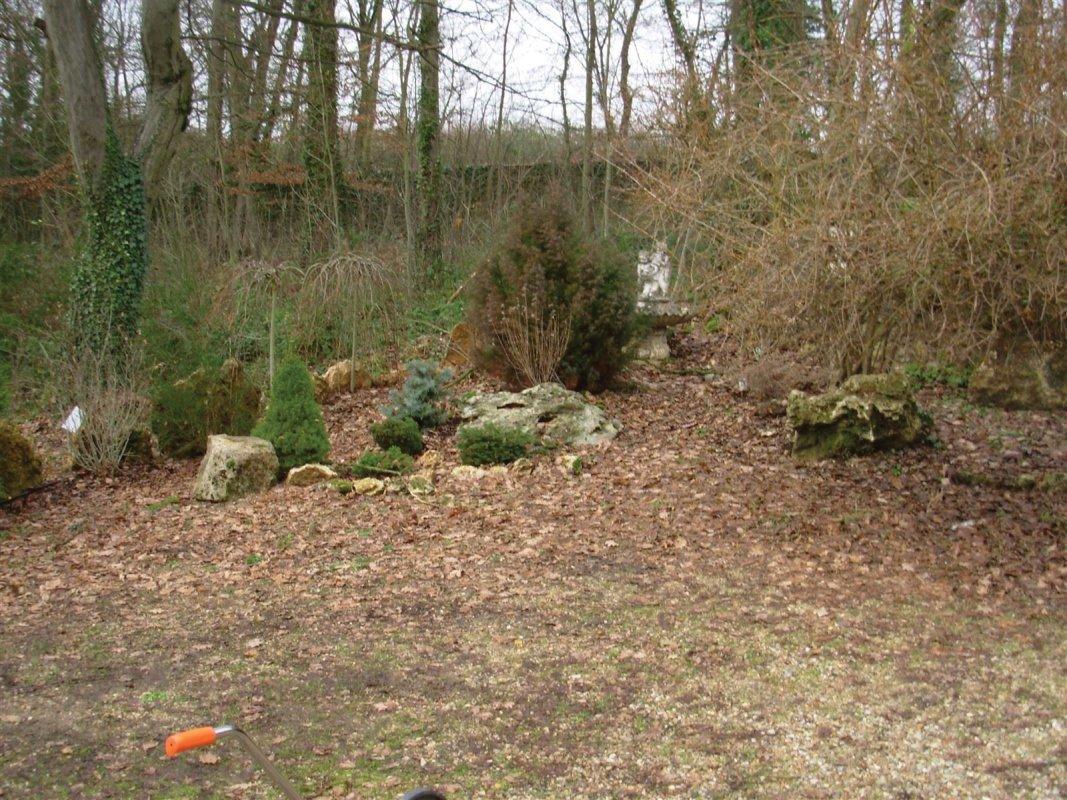 Immovert - jardin avant travaux