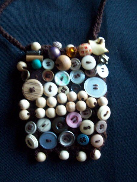 Button Up : So eye-catching with rows of beads buttons galore  $33.00