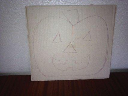 Sketch of pumpkin.