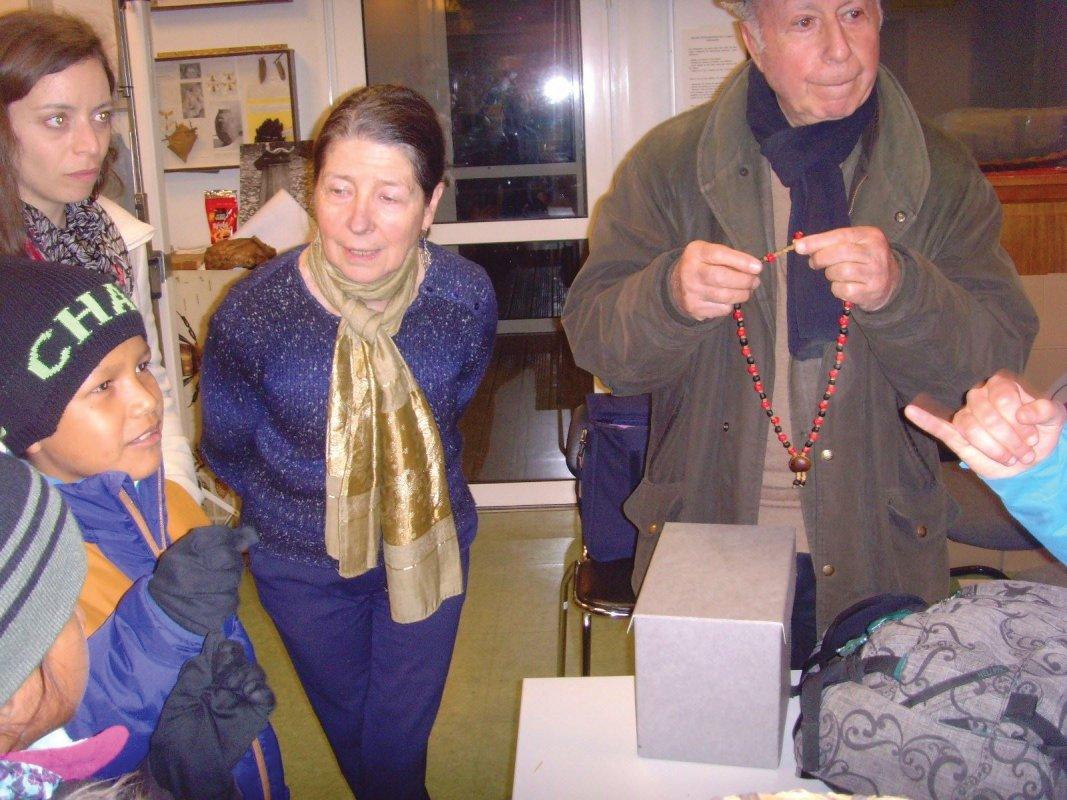 Un collier du village pour Pierre-Henri