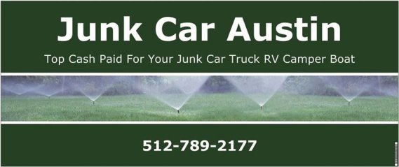 Junk Car Buyers of Austin are here to help you Sell your Old Worn Out Vehicle for Top Dollar and Fast Service.  Call us Today at 512-789-2177 and we also offer Free Towing !!
