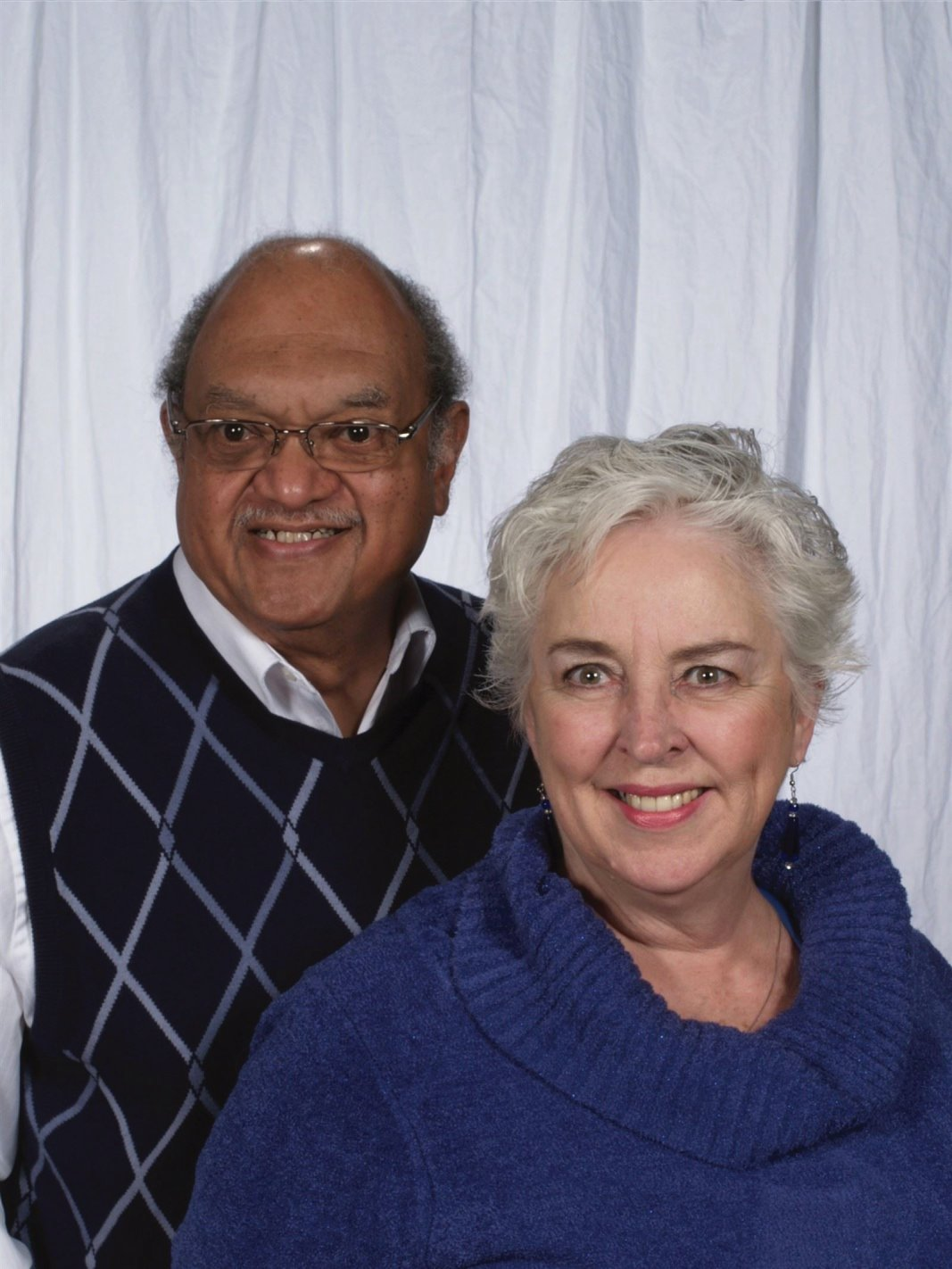 Revs. Eileen Douglas and Richard Talley, co-ministers and friends along the spiritual path.