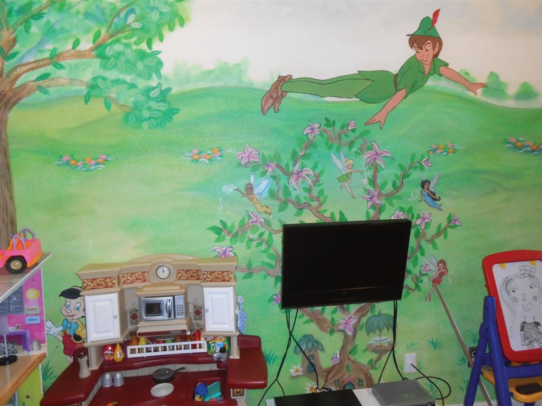Kids room (2) Residential Painting, Color consultation, Pleasanton Painting contractor, House painter