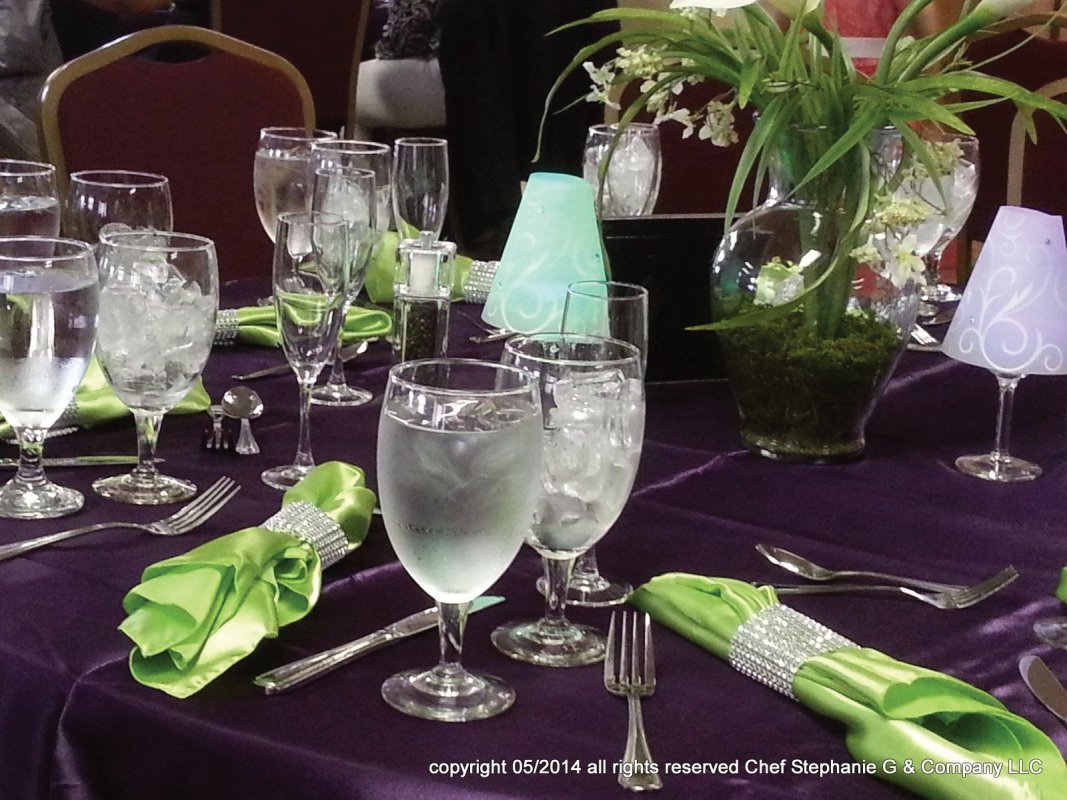 Wedding Table Scape