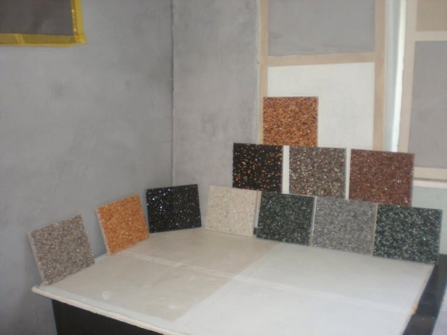 Steinteppich Betonlook Sichtbeton Designboden