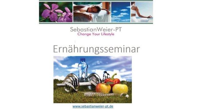 Ernährungsseminar Sebastian Weier-PT