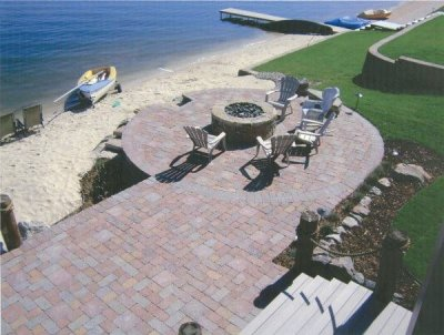 Denver brick  dry set pavers